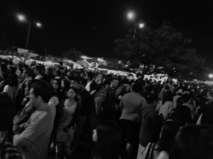 SD Night Market Crowd